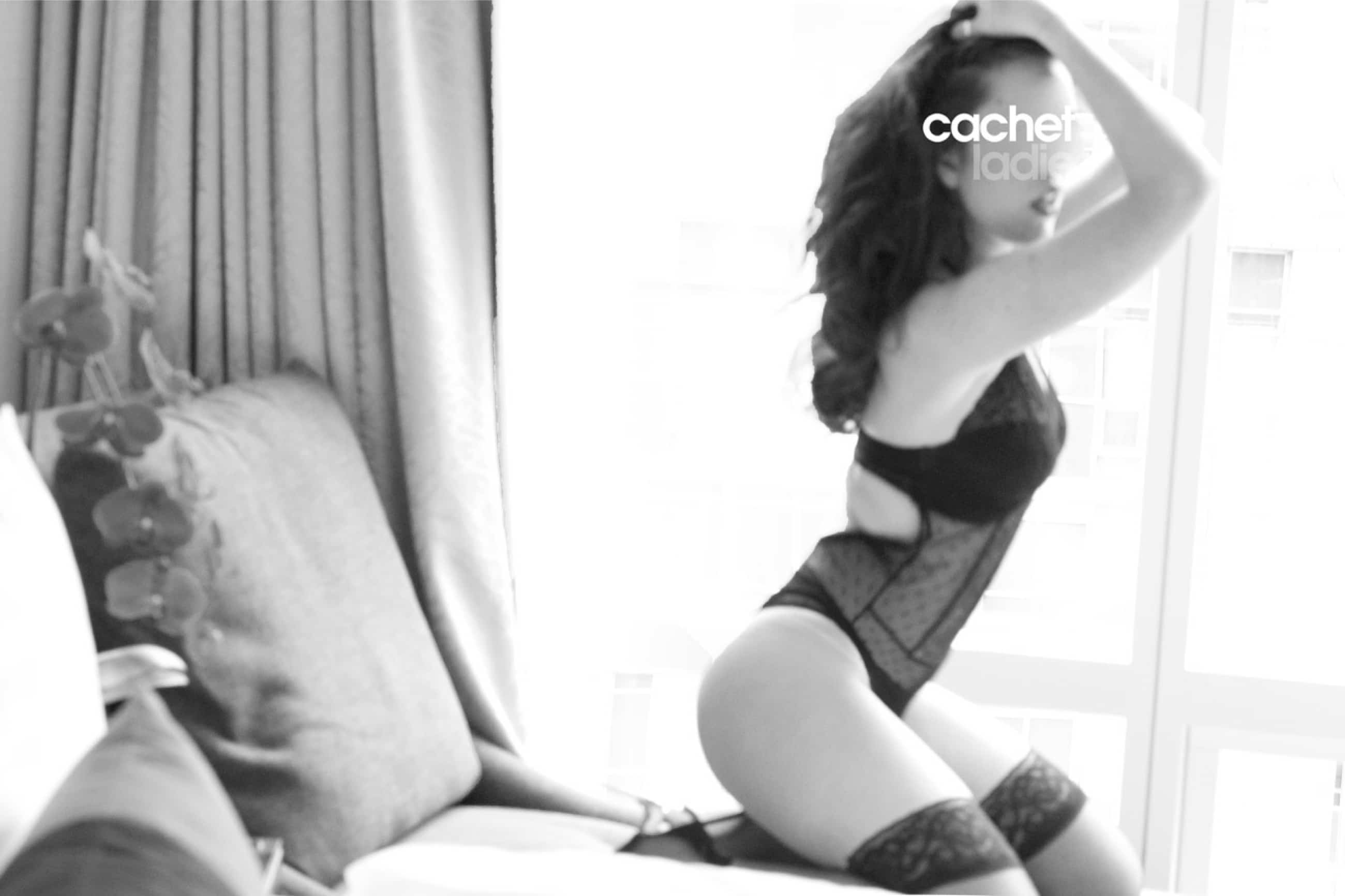 Charlie a courtesan escort by Cachet Ladies