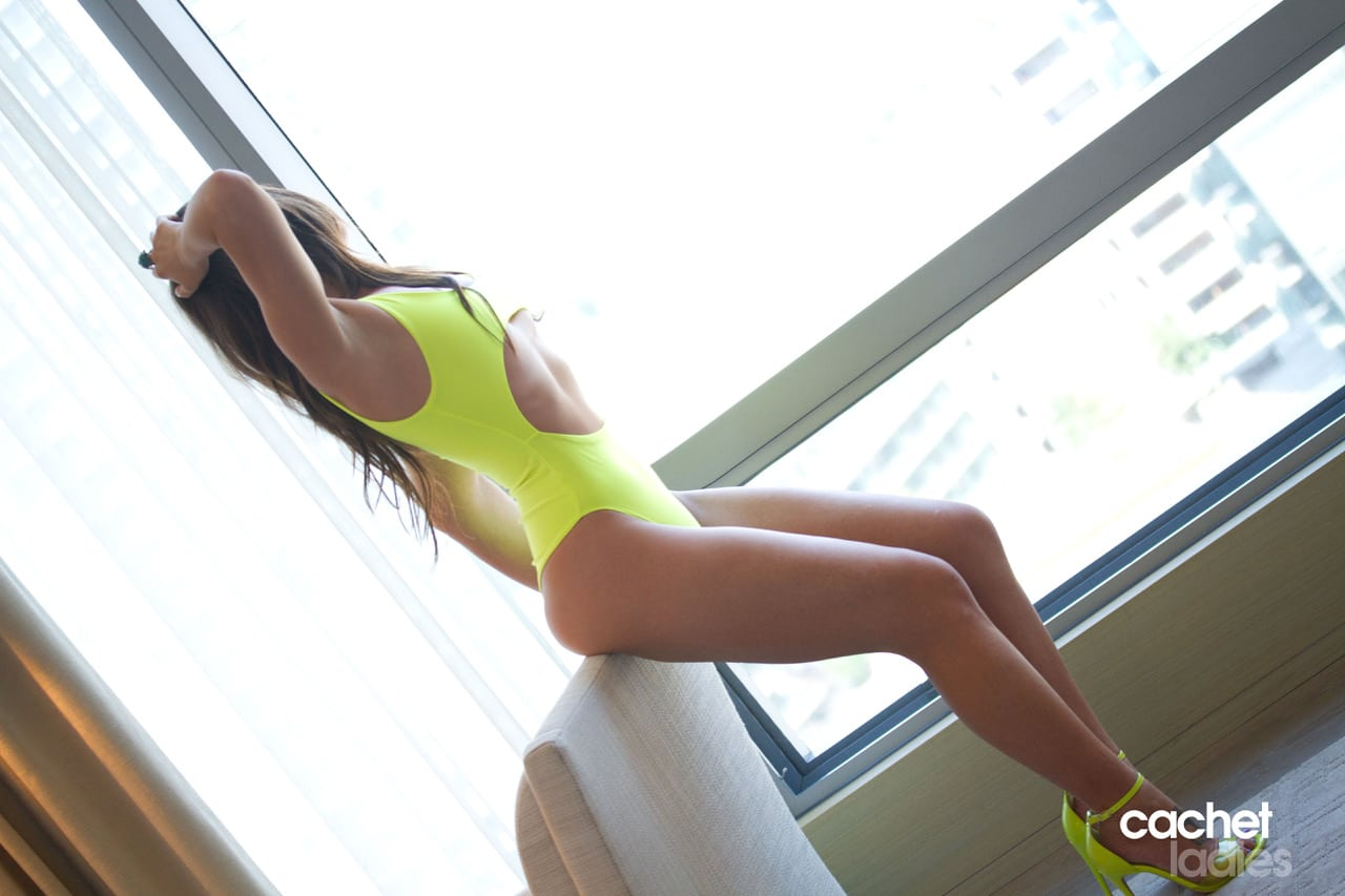 One of our Toronto Escorts Cachet Ladies Courtesan Models