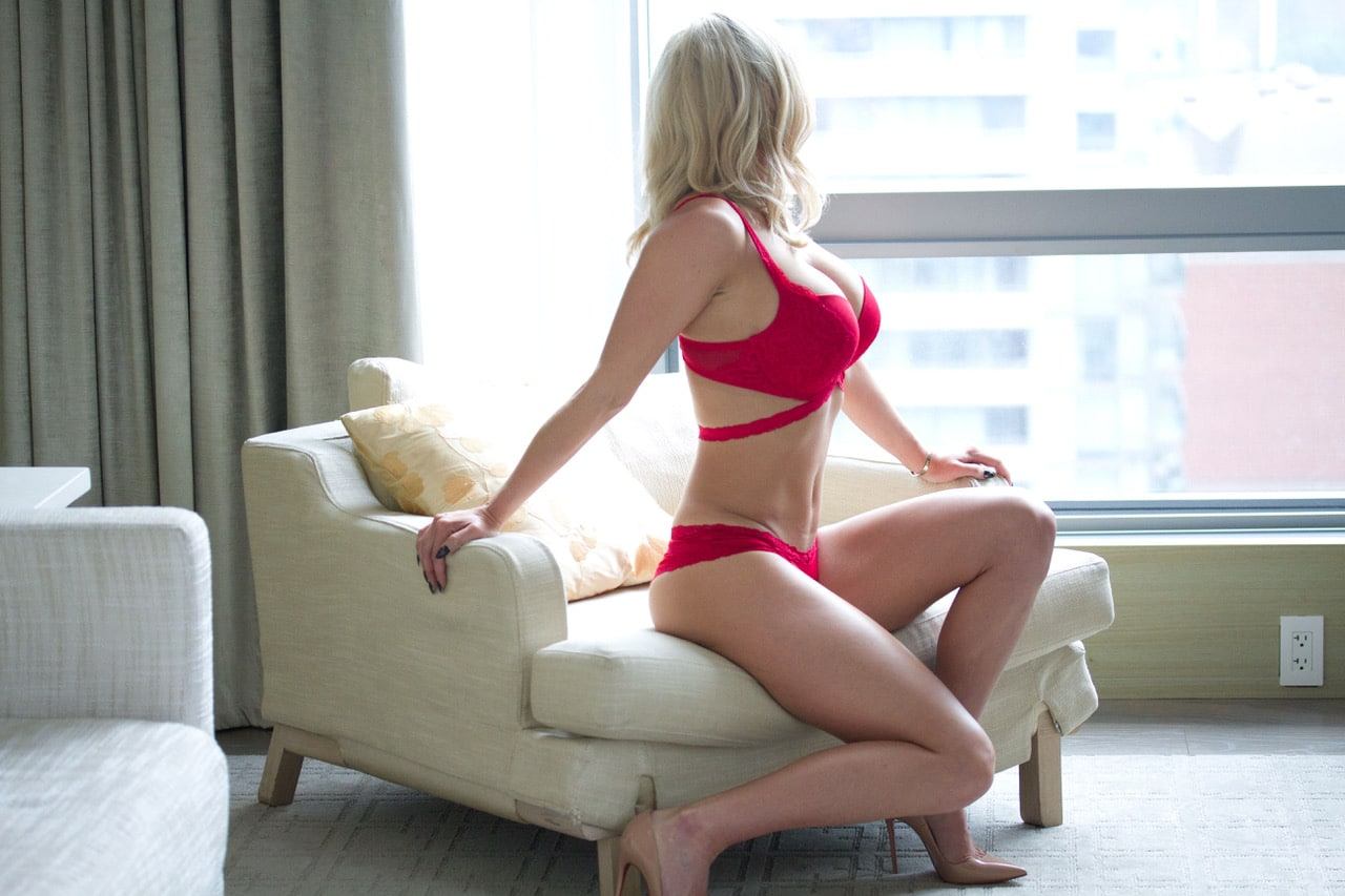 One of our courtesan Toronto escorts by Cachet Ladies