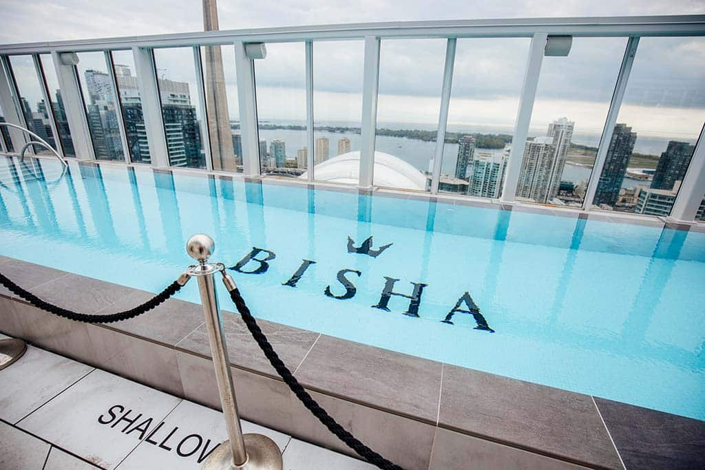 Escort Parites on the Rooftop of Bisha Toronto